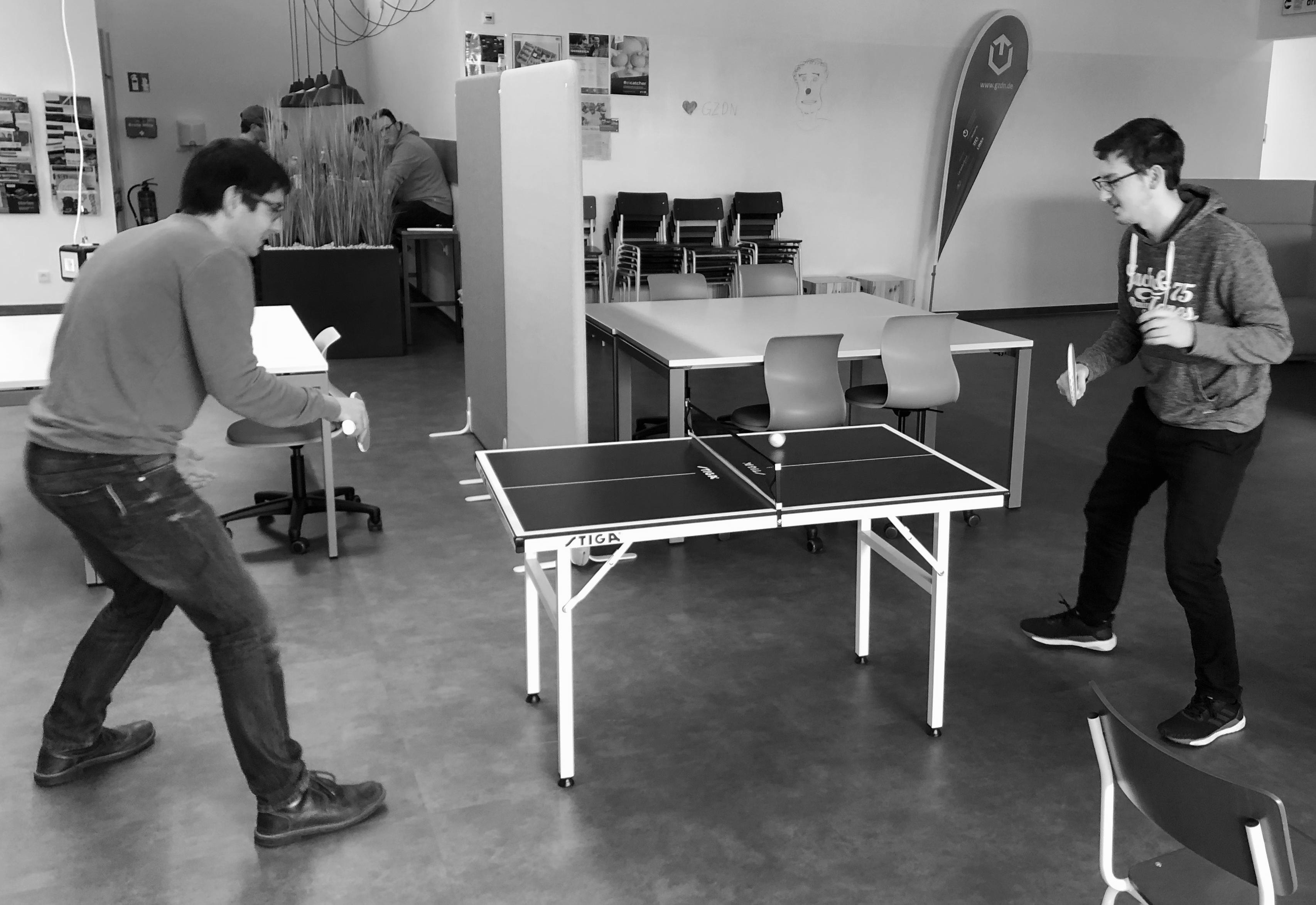 Ping Pong Pause im CSP Innovation Lab